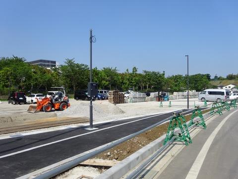 北市川運動公園駐車場工事
