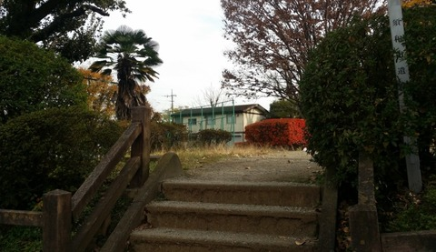 須和田公園の入口2