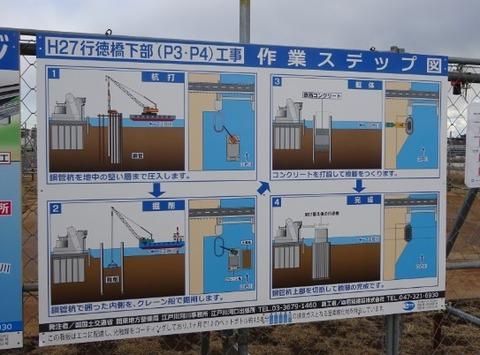 行徳橋作業ステップ図