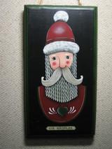 サンタの肖像画