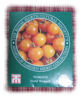 """ミニトマト""""ゴールドナゲット""""の種袋"""