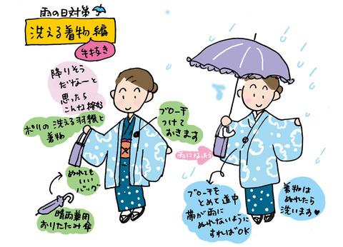 雨の日ポリ