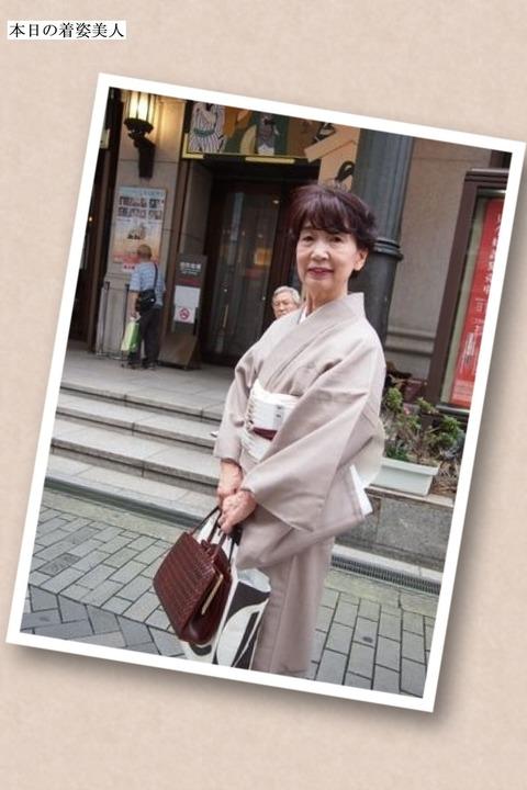 【着姿美人】街でみかけた着物コーディネート美人を紹介Vol.7