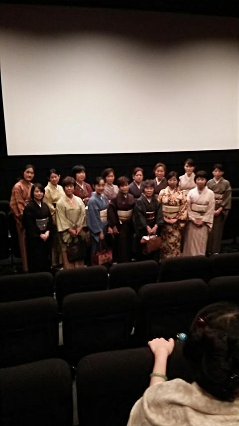 12月着物でお出かけイベント京都編 シネマ歌舞伎を観にいきました