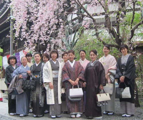 4月11日着物でおでかけイベント『京(みやこ)を描く―洛中洛外図の時代―』鑑賞の報告
