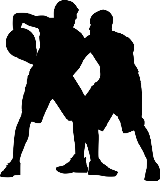 バスケットのピボットsilhouette-3258273_640