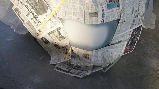 サフェーサーを塗ったバンパー768x432