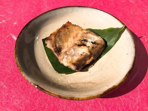 鯖粕漬調理例