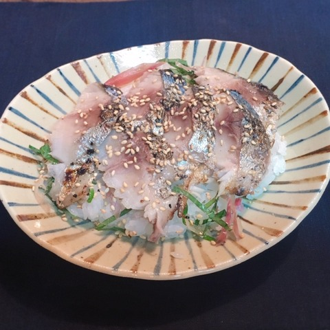 焼きしめ鯖ちらし寿司