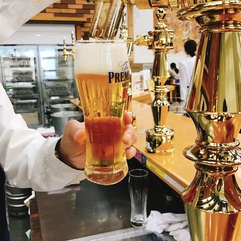 サントリー〈天然水のビール工場 〉見学 試飲編@府中