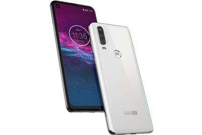 Motorola One Action white