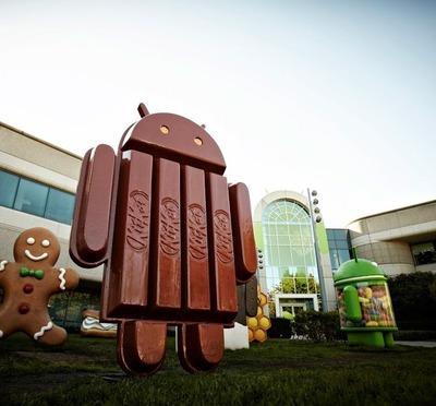 世界のAndroidのバージョン別シェア JellyBeanのシェアが50%を割り KitaKatのシェアが増加