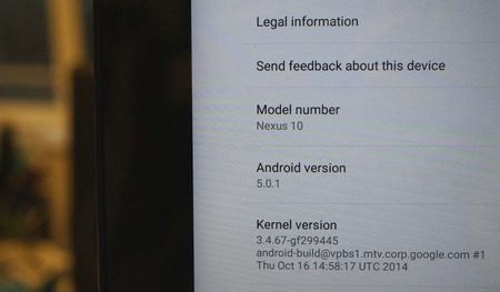 Google、Nexus 7 (2013) / Nexus 9 / Nexus 10 に「Android 5.0.1」のOTAアップデート開始