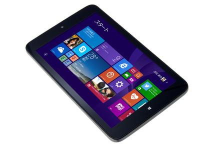 ドスパラ、19,980円で8インチWindows8.1搭載タブ「Diginnos DG-D08IW」の予約開始!