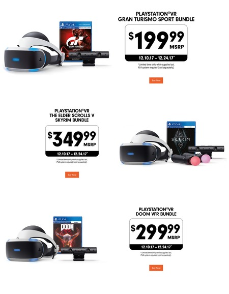 PlayStation Holiday Deals 2017