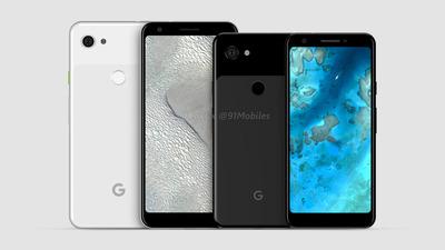 Google未発表スマホ「Pixel 3 Lite」と「Pixel 3 Lite XL」のレンダリング画像