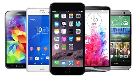 iPhone 6 Plus vs G3, Xperia Z3, GS5, One M8