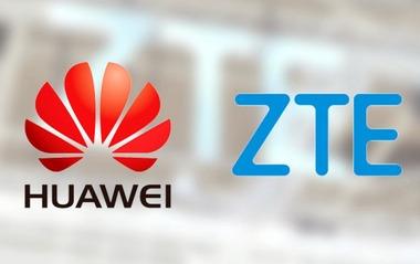 Huawei-ZTE-logos