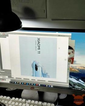 Xiaomiの次期フラグシップスマホ「Mi 11」の画像リーク
