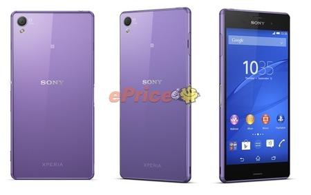 ソニー、Xperia Z3の新色「Purple Diamond Edition(紫)」を香港で正式に発表
