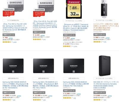 CrucialやサムスンのSSD、microSDカードがお買い得【サイバーマンデー】