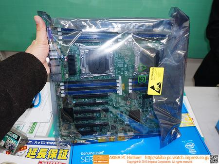 """""""2TBメモリ増設""""に対応したデュアルXeonマザー「S2600CW2」が発売"""