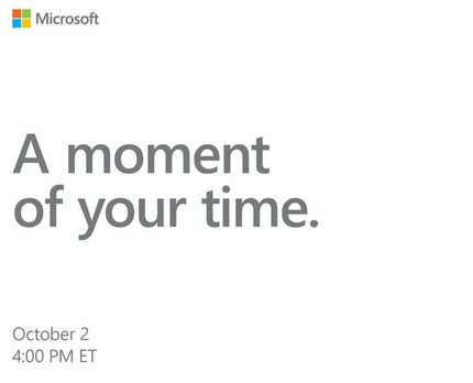 Microsoft+Oct+event