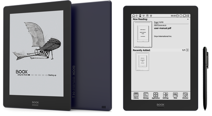 ONYX、9.7インチE Ink搭載のAndroidタブレット「BOOX Note S」を4万9800円で発売