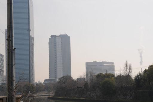 京橋からの風景