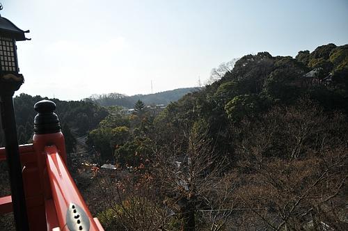 信貴山本堂からの眺め
