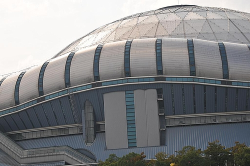 CS決戦を待つ京セラドーム