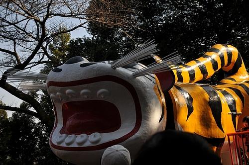 信貴山の張り子の虎