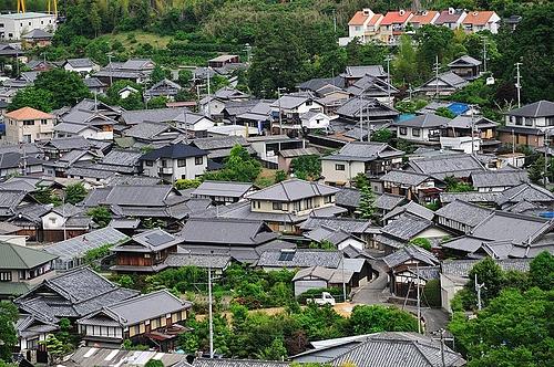 岸和田サービスエリアからの風景