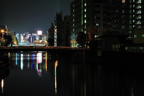 道頓堀の明かり