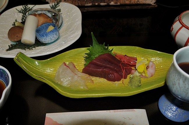季節の沖魚三種盛