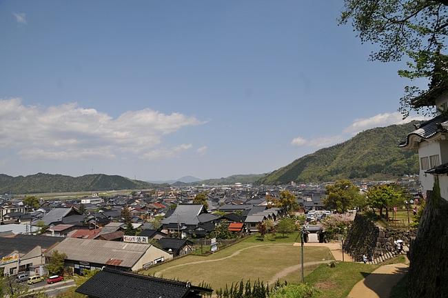 出石城下町の風景