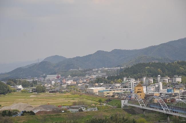 福知山城からの風景