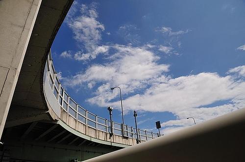 泉大津の空