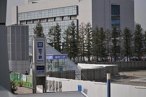 阪神電車「ドーム前駅」