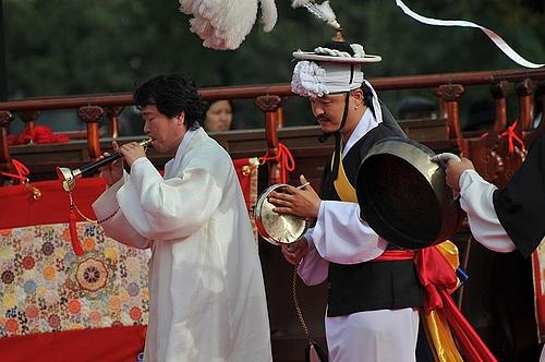 百済文化祭扶余国楽団ブンムルノリ隊 3
