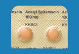 アセチルスピラマイシン錠100