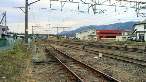 東北本線角田街道(柳町)X1仙台方面1