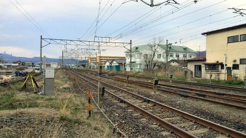 東北本線角田街道本郷X2東京方面1