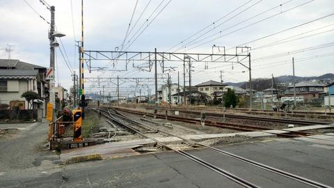 東北本線角田街道(柳町)X1仙台方面2