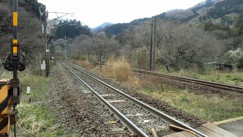 東北本線峠の森踏切X2東京方面1