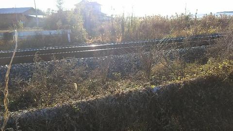石巻線第4種砂田前第1踏切撤去後山側1