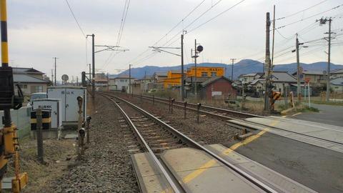 東北本線郡山踏切X2東京方面1