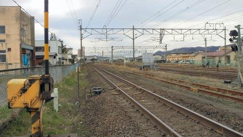 東北本線鷹ノ巣踏切X1仙台方面1