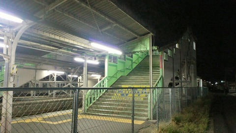 白石駅ホーム5