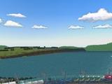 新幹線レイアウト東側海6
